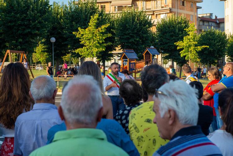 Provincia di Siena: Chiusi, inaugurati parcheggio e parco giochi di piazza XXVIGiugno