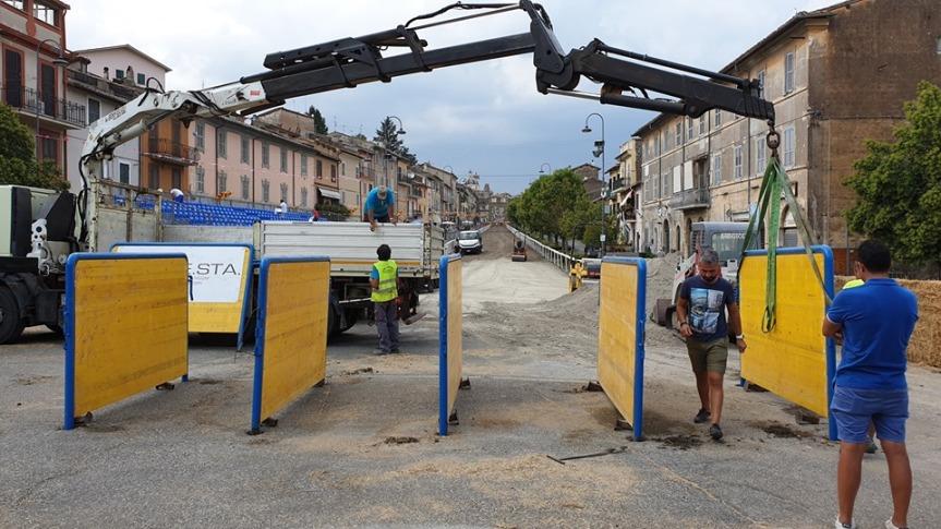 Corse a Vuoto Ronciglione: Oggi 23/08 Montati i Box dipartenza