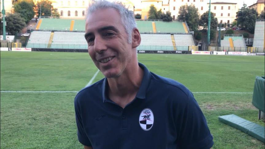 Siena, Robur Siena, Tosti: «Abbiamo lavorato bene in ritiro, dobbiamo continuare con la giustatesta»
