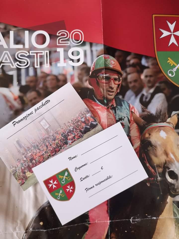 Palio di Asti, Comitato Palio Borgo San Pietro: Info Settimana Palio2019
