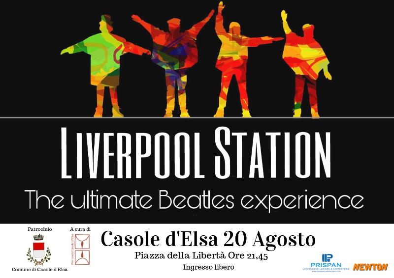 """Provincia di Siena: """"Liverpool Station"""", la musica dei Beatles per """"I martedì diCasole"""""""
