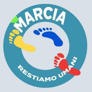 "Provincia di Siena: La marcia ""Restiamo umani"" fa tappa a SanGimignano"