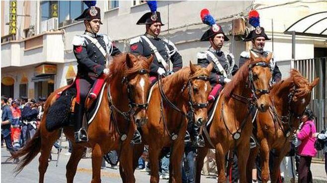 palio di Asti, Al Palio il drappello di onore del 4° Reggimento Carabinieri a Cavallo: Tutto ilprogramma