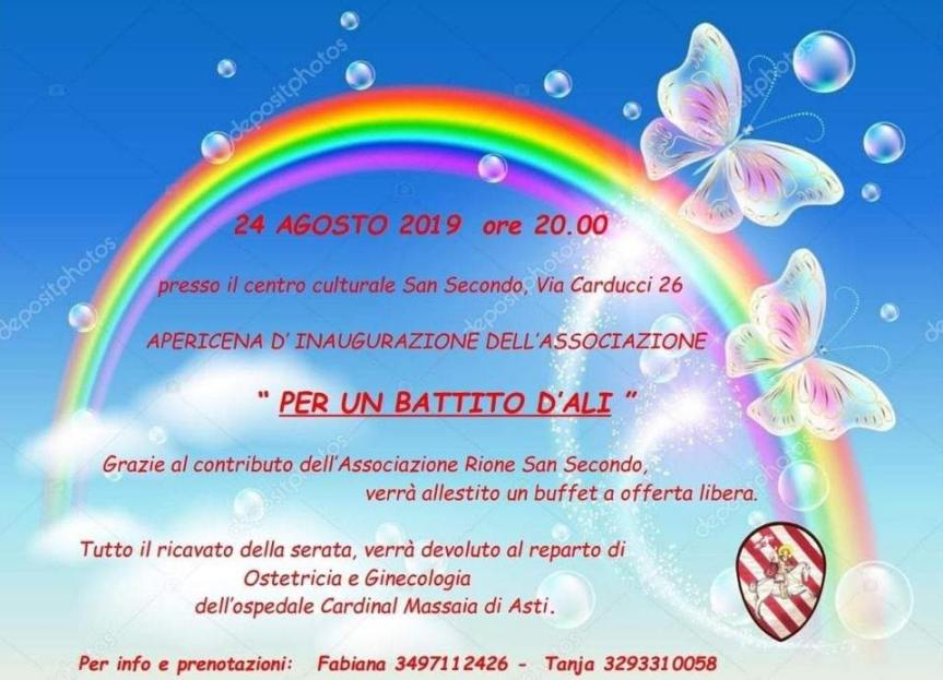 """Palio di Asti, Rione San Secondo: 24/08 """" Per un battito d'ali"""""""