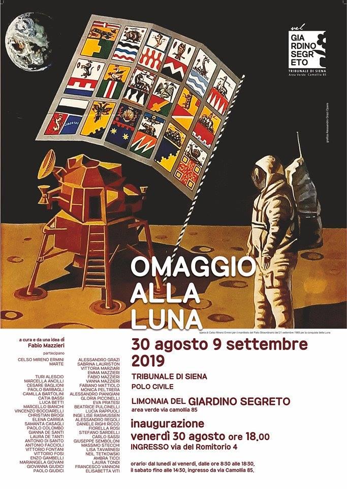 """Siena: 30/08-09/09 """"Omaggio allaLuna"""""""