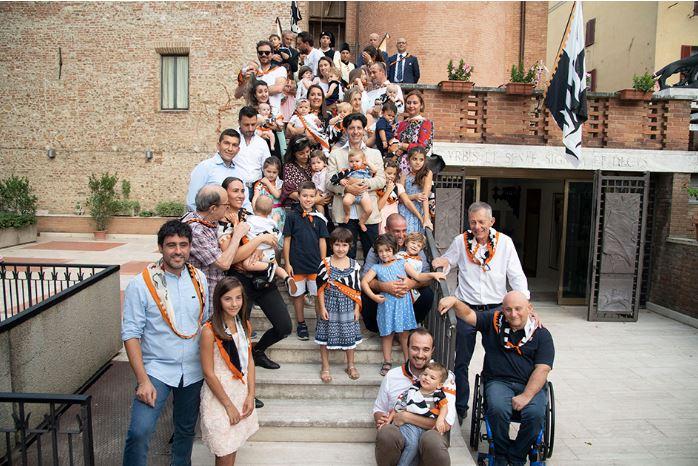 Siena, Contrada della Lupa: Fotogallery Battesimi 2019 del31/08