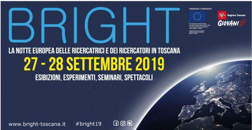 Toscana: Bright 2019, torna a brillare la Notte deiRicercatori