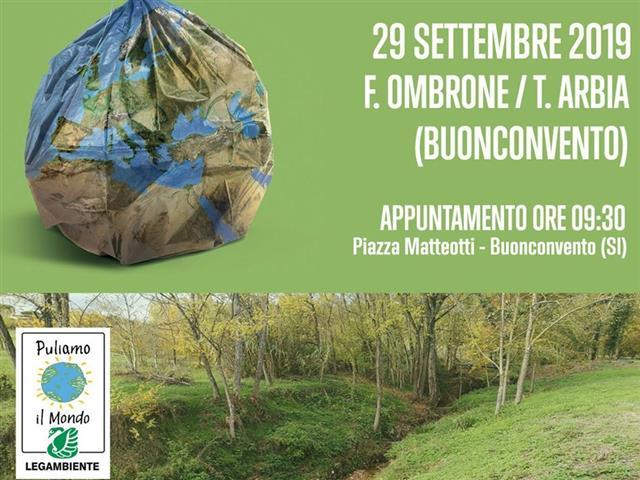 Provincia di Siena: Puliamo Ombrone e Arbia con il CB6 aBuonconvento