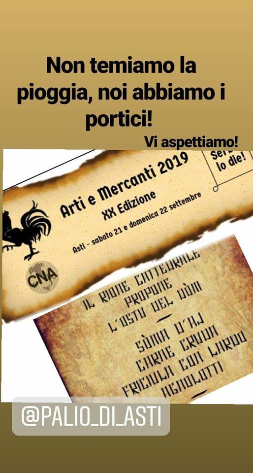 """Palio di Asti, Rione Cattedrale: Oggi 22/09 Il Rione vi aspetta per """"L'Ostu delDòm"""""""