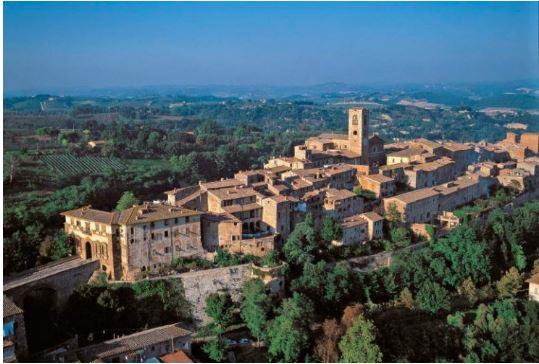 Provincia di Siena, Frana e pioggia: Paura per lecase