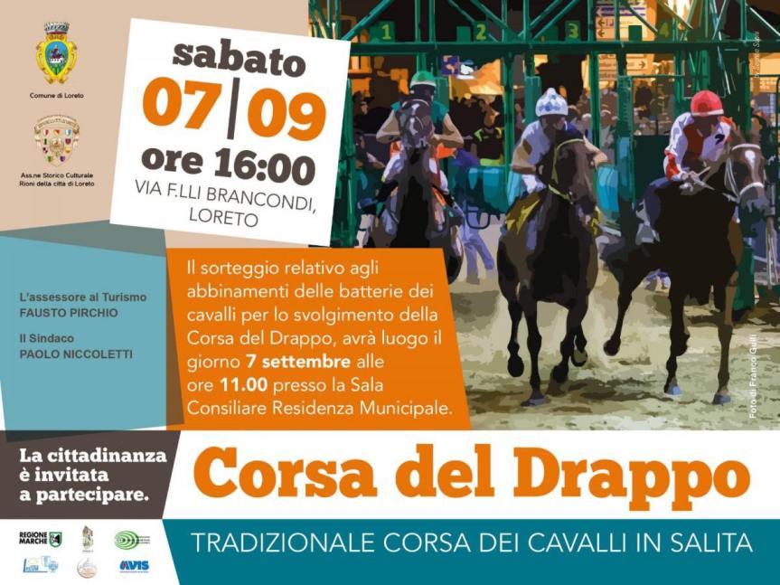 Palii, Loreto: Oggi 07/09 Resoconto Corsa del Drappo2019