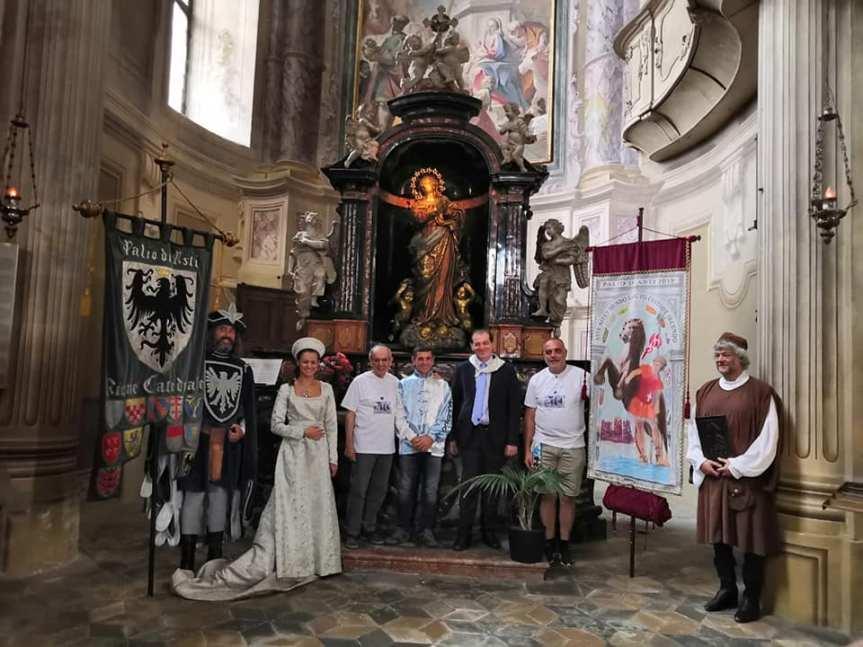 """Palio di Asti, Rione Cattedrale: Ieri 21/09 si è svolto il """"Corte della  Vittoria"""" per il Palio dei Borhghi e Rioni2019"""
