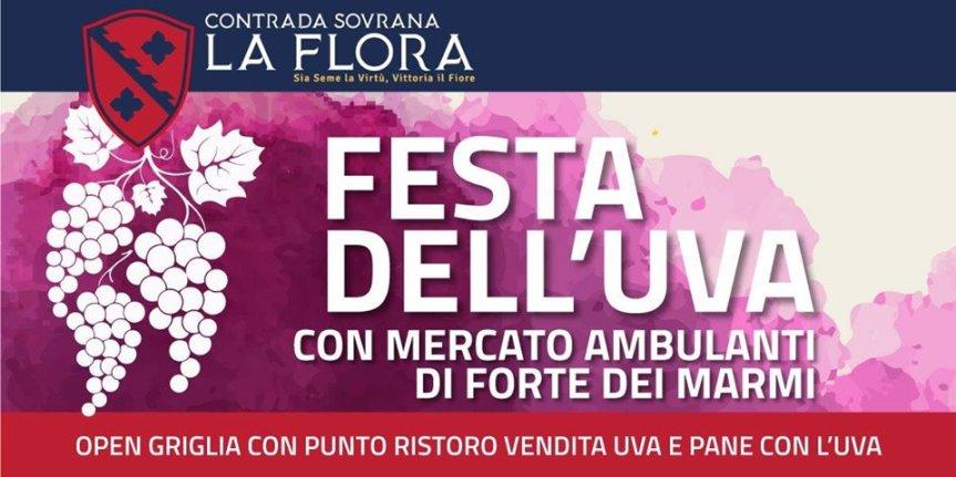 Palio di Legnano, Contrada la Flora: 22/09 Festa dell'Uva ✤ 2019 e presenza Ambulanti di Forte deiMarmi