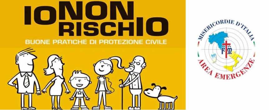 """Siena, """"Io non rischio"""": Campagna nazionale per le buone pratiche di protezione civile. Il 24 ottobre volontari in piazza Salimbeni aSiena"""