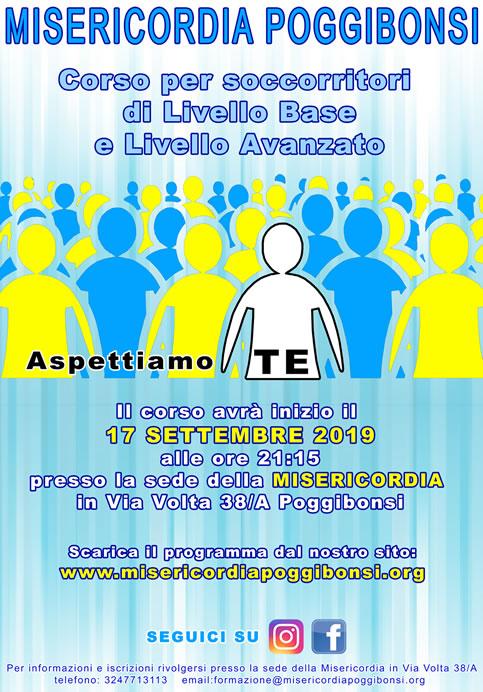 Provincia di Siena, Misericordia di Poggibonsi: A scuola per diventarevolontari