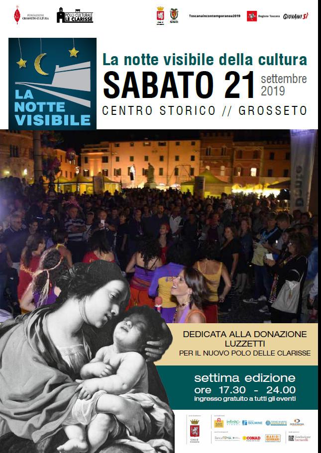 Toscana, E' l'ora della 'Notte visibile della cultura 2019': Tutto il programma piazza perpiazza