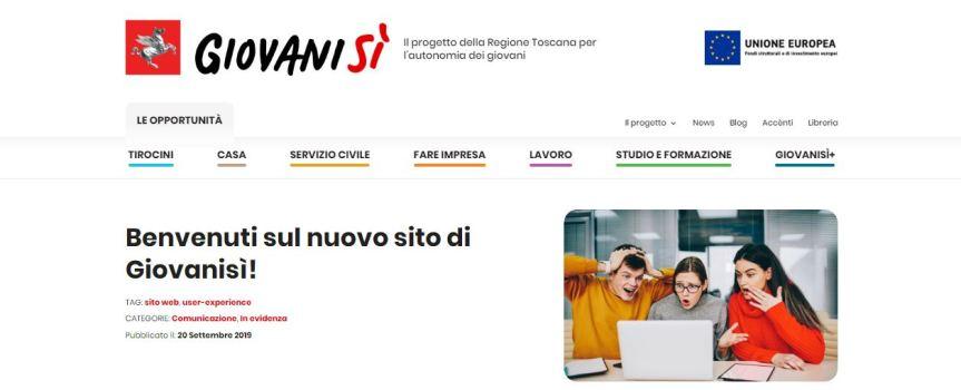 Toscana: Regione e GiovaniSì aiutano gli studenti nell'orientamento scolastico