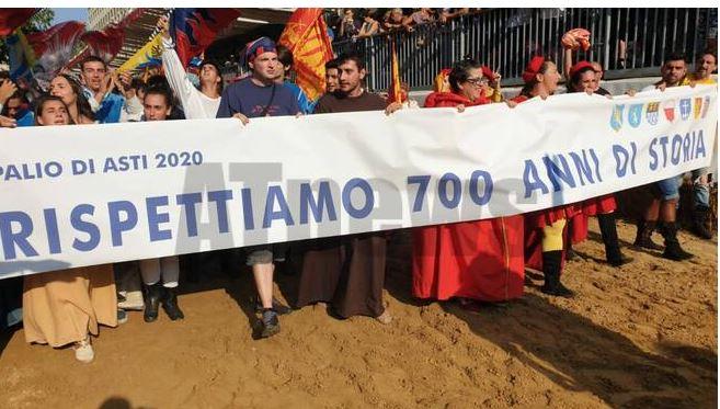 """Palio di Asti, Comuni: """"Vogliamo un solo Palio, come ègiusto"""""""