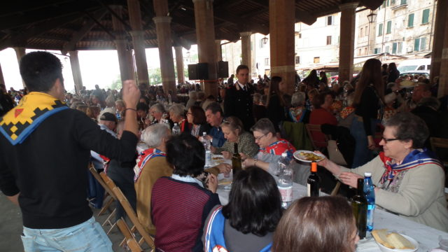 """Siena: 07/09 """"Pranzo coi nonni"""", torna l'appuntamento delle Contrade alTartarugone"""