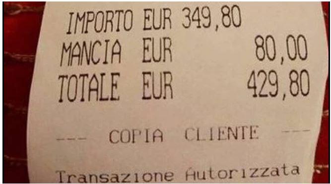 Italia: Roma, chiuso il ristorante finito nella bufera per il maxi scontrino alle turistegiapponesi