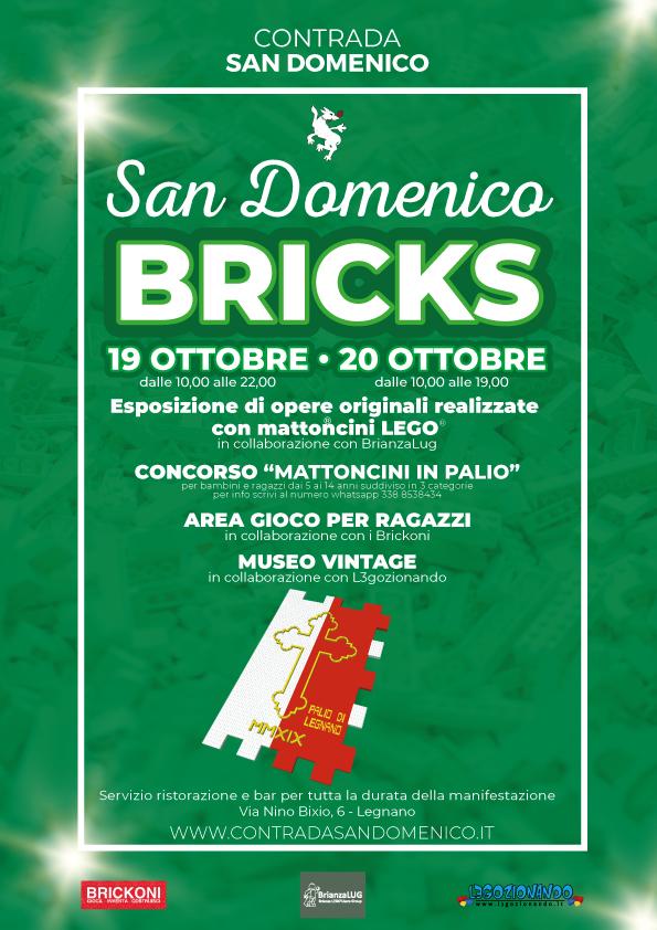 """Palio di Legnano, Contrada San Domenico: 19-20/10 """"San DomenicoBricks"""""""