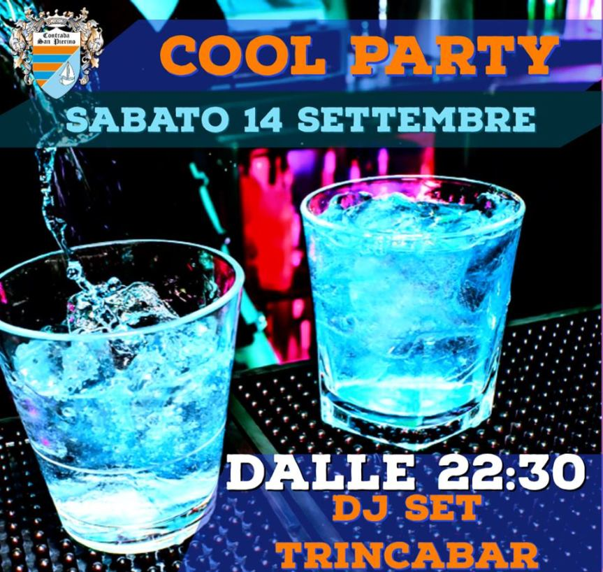 "Palio di Fucecchio, Contrada San Pierino: 14/09 ""Cool Party"""