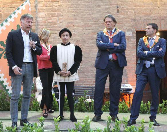 Palio di Siena, Oggi 26/09 Selva, festeggiamenti ufficiali della vittoria: Ilricevimento