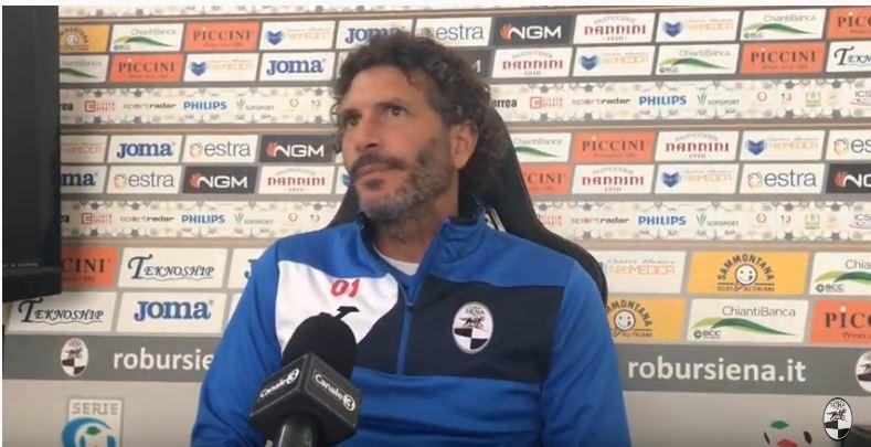 """Siena, Robur Siena, Dal Canto: """"Vogliamo fare del nostromeglio"""""""