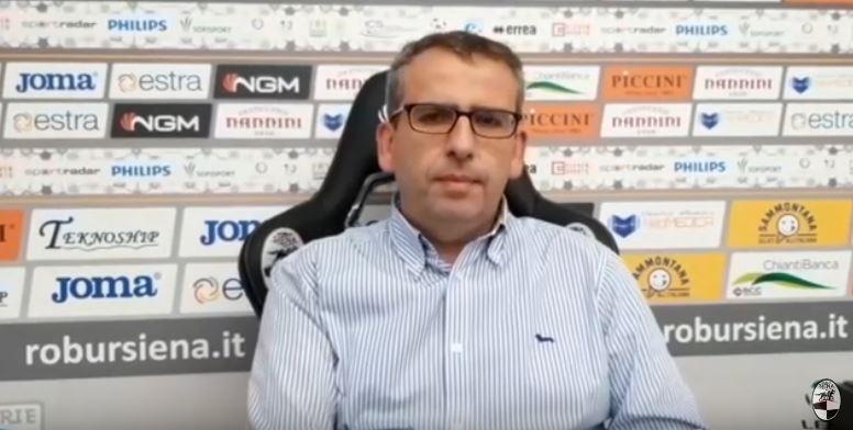 """Siena, Robur Siena,  Di Mambro: """"Da lunedì Guberti si allenerà con lasquadra"""""""