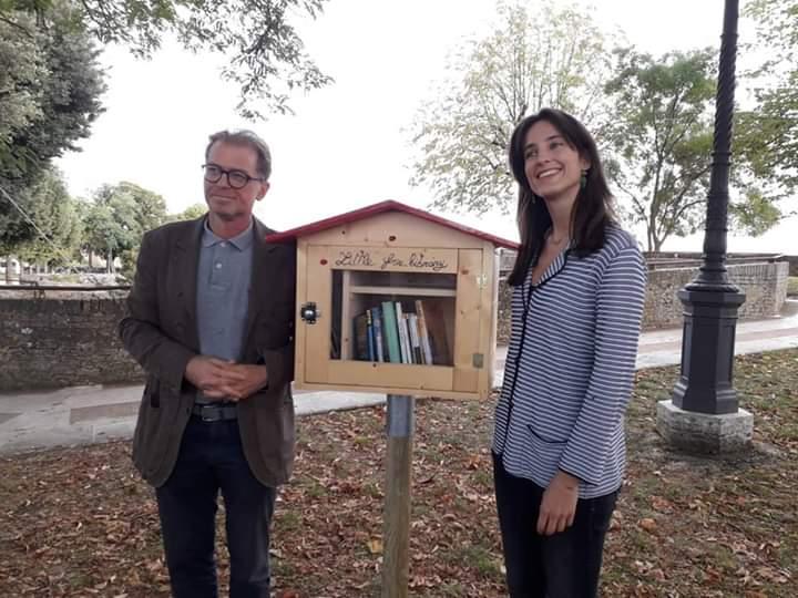 Siena: Vandalizzata la little free library inFortezza