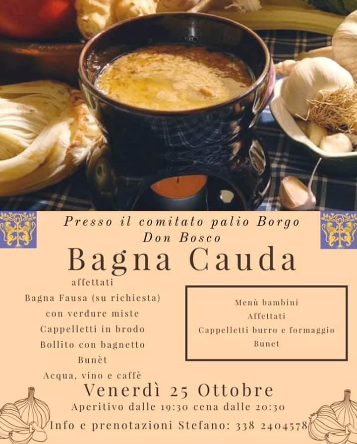 Palio di Asti, Comitato Palio Borgo Don Bosco: 25/10 Bagna CaudaDay