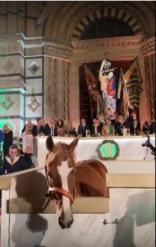 Palio di Siena: Cena della Vittoria dellaSelva