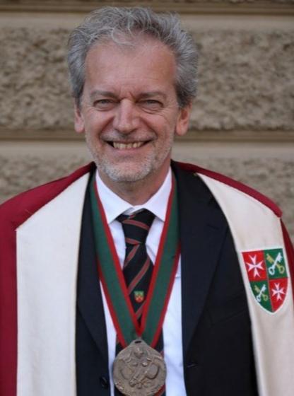"""Palio di Asti, Borgo San pietro: Due chiacchiere con il Rettore Mario Raviola sulla conferma di Carlo Sanna detto """"Brigante"""""""