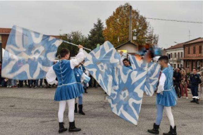 Palio di Asti, Comitato Palio Montechiaro:  Musici e Sbandieratori protagonisti alla Fiera del tartufo diMontiglio