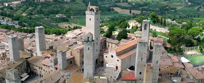 Provincia di Siena: Torna visitabile Torre e Casa Campatelli a SanGimignano