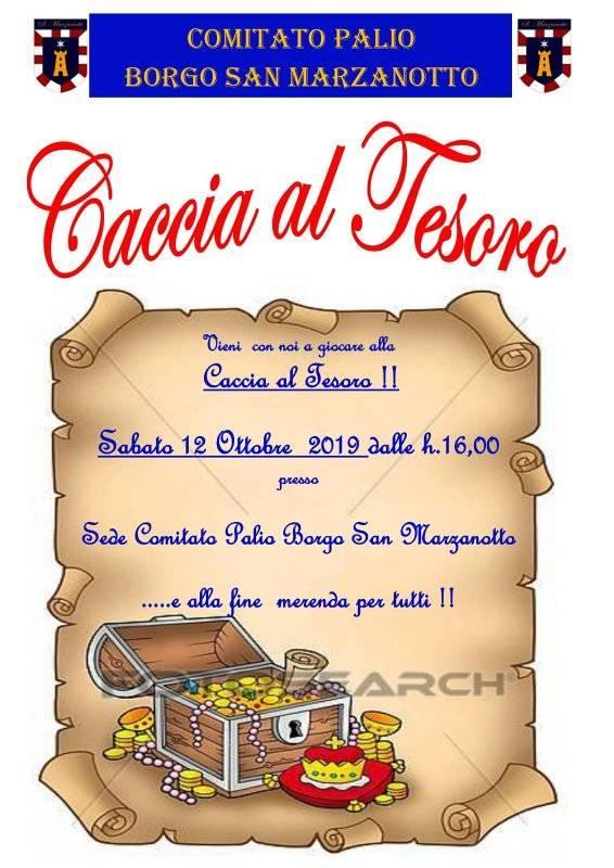 Palio di Asti, Comitato Palio Borgo San Marzanotto: 12/10 Caccia alTesoro