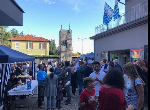 """Palio di Legnano, Contrada Sant'Erasmo: Resoconto """"73° mercatino"""" di ieri27/10"""