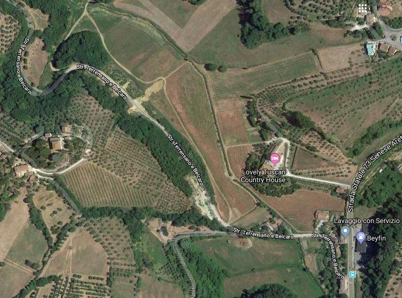 Siena: Oggi 1° aprile, chiuso al traffico veicolare e pedonale un tratto di strada Terrensano eBelcaro