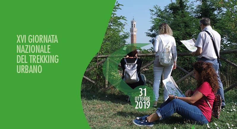Siena: XVI Giornata Nazionale del Trekking Urbano 31 ottobre2019