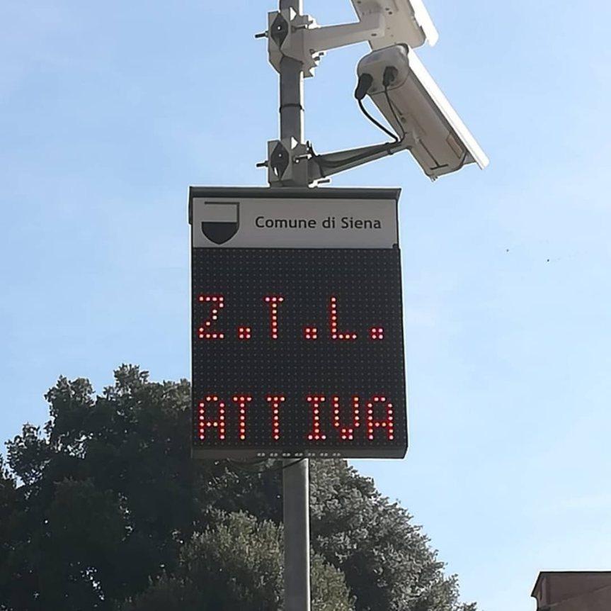 Siena: Riaperti i varchi ztl di Porta Tufi eFontanella
