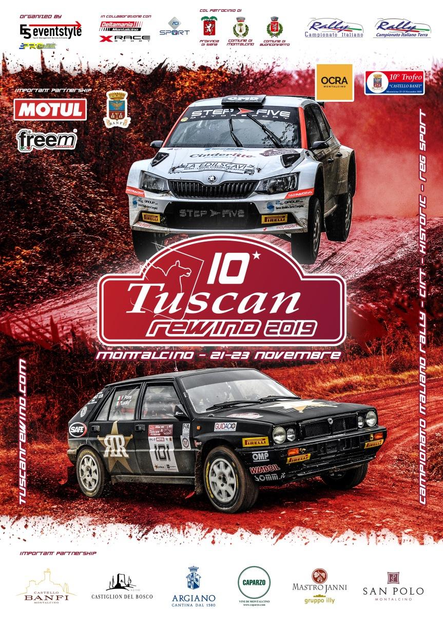 Provincia di Siena, Rally, Tuscan Rewind: I nuovi campioni italiani sono Crugnola eOmetto