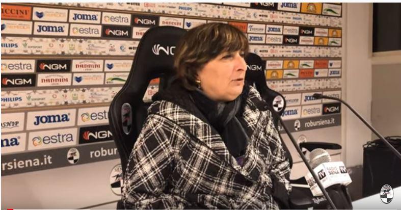 """Siena, Robur Siena, Anna Durio: """"La mia famiglia onorerà gli impegni. Futuro Robur non dipende solo danoi"""""""