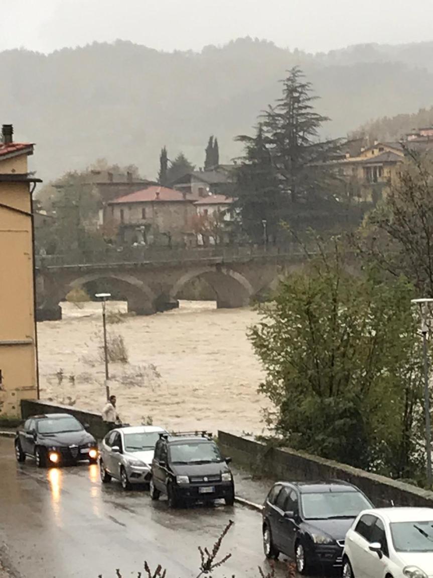 Toscana, Maltempo, corsi d'acqua ingrossati: Codicegiallo