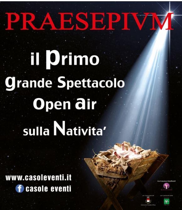"""Provincia di Siena: Casole presenta l'edizione 2019 di""""Praesepivm"""""""