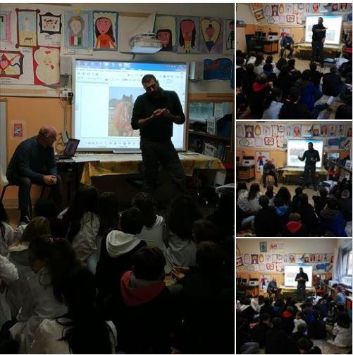 Siena, Associazione Cavalli Palio; Oggi 20/11 Iniziata l'avventura Antonio e Nicola con le scuole per parlare delcavallo