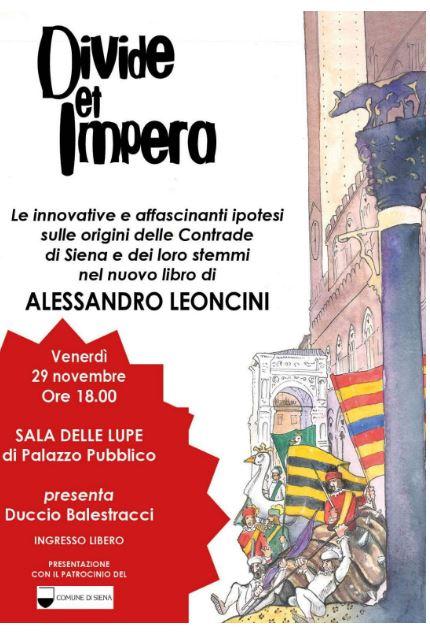 Siena: IL 7 gennaio alla Biblioteca degli Intronati protagonisti gli stemmi delleContrade