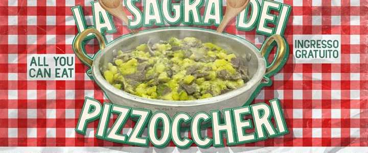 San Domenico la sagra dei Pizzoccheri all you can eat 22-23-24-11 2019
