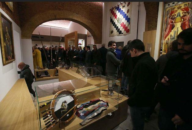 Siena, Contrada dell'istrice: Video sui nuovi spazi museali dellaContrada