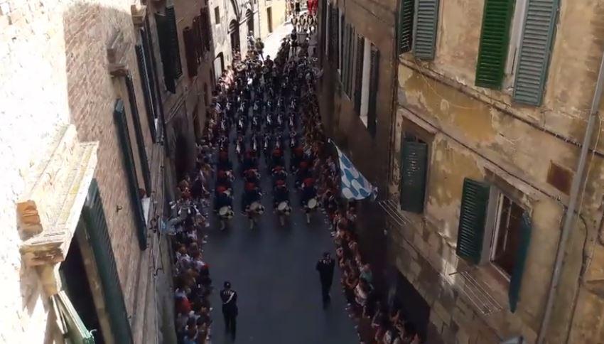 Palio di Siena: Corteo storico del Palio diSiena