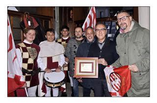 Palio di Asti, Comitato Palio Rione San Secondo: Franco Chierici vince il Premio per la MigliorVetrina